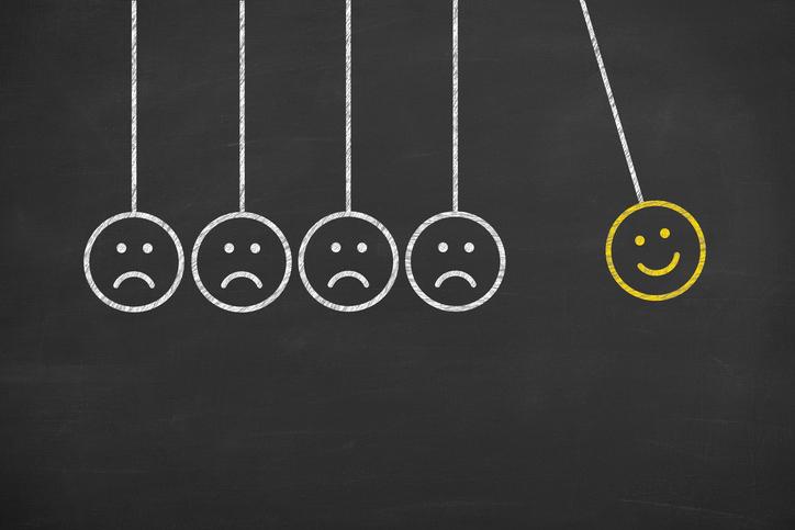 Optimismus positives Denken